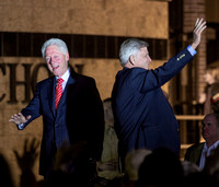 BILL CLINTON WITH GOV. MIKE BEEBE