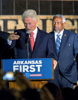 BILL CLINTON WITH STATE REP. GEORGE MCGILL